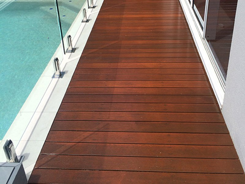 After Pool Deck Sanding
